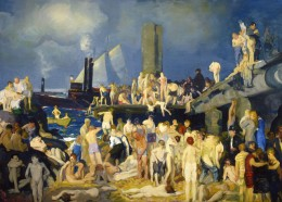 This painting by George Bellow's was recently released to the Tacoma Art Museum. How did I know? It's on the Cleaning Seattle blog =)