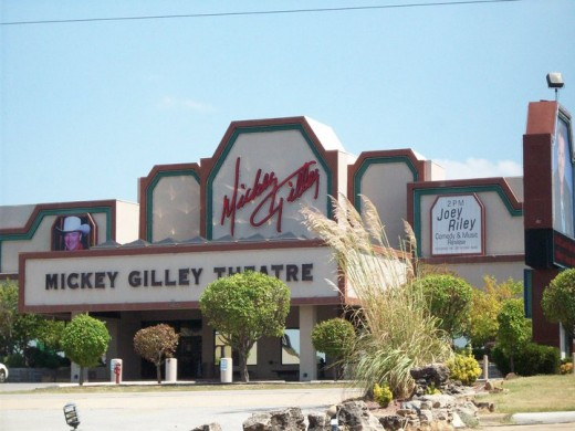 Gilley's also has a restaurant.