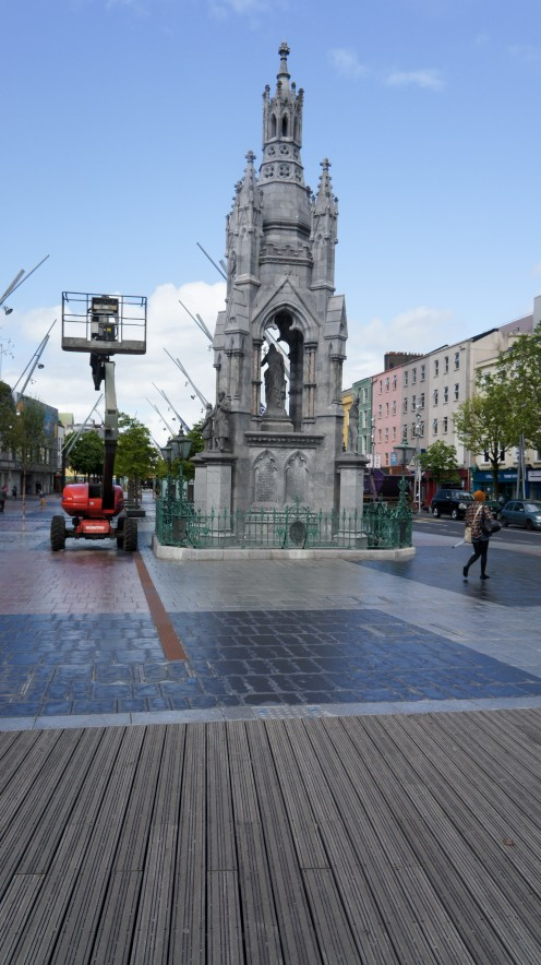 The National Monument on the Grand Parade in Cork, Ireland.