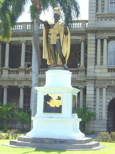 Statue of King Kamehameha, Honolulu, Oahu