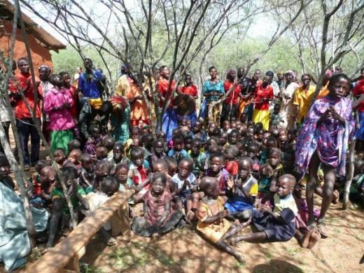 West Pokot tribe in Kenya, Summer 2007