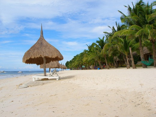 Bohol beach in the central Philippines (Image protected with Attribution License)
