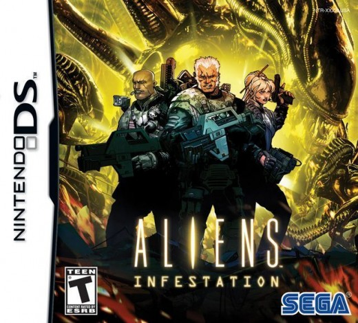 Aliens: Infestation on the Nintendo DS . This time it really is war...