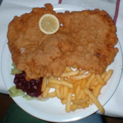 Large Wiener Schnitzel