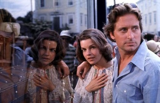 Genevieve Bujold and Michael Douglas in Coma (1978)