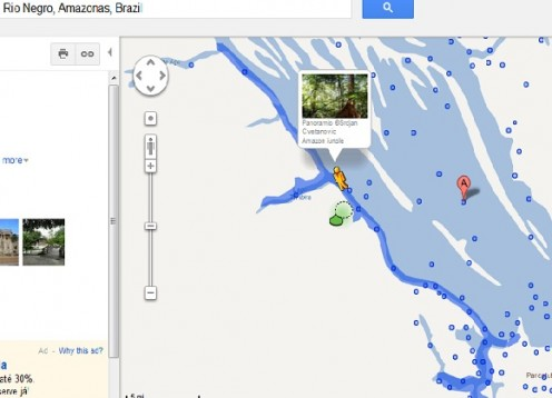 amazon rainforest in google street view