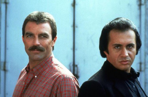 Tom Selleck and Gene Simmons in Runaway (1984)
