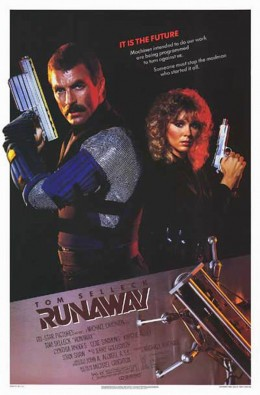 Runaway (1984) poster
