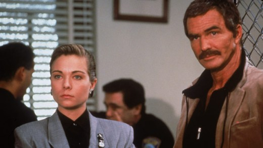 Teresa Russell and Burt Reynolds in Physical Evidence (1989)