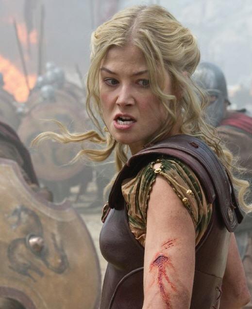 Andromeda, Queen of Greece in Battle
