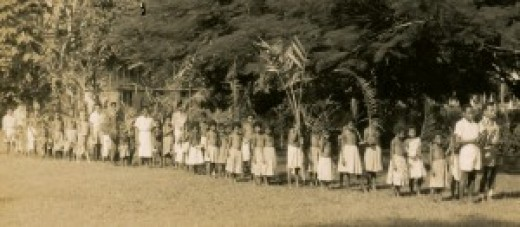 Palm Sunday in Salamo, PNG