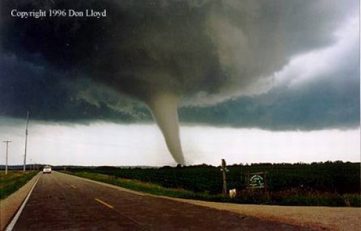 The F-5 tornado that tore through my hometown