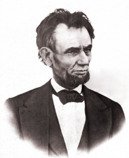 Last Known Photograph of Lincoln While He was Alive, Taken by Henry F. Warren on the White House Balcony, March 6, 1865. Lincoln Agreed to Sit for this Photo at His Son Tad's Request.