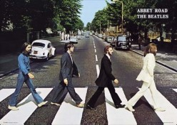 Walking through Abbey Road