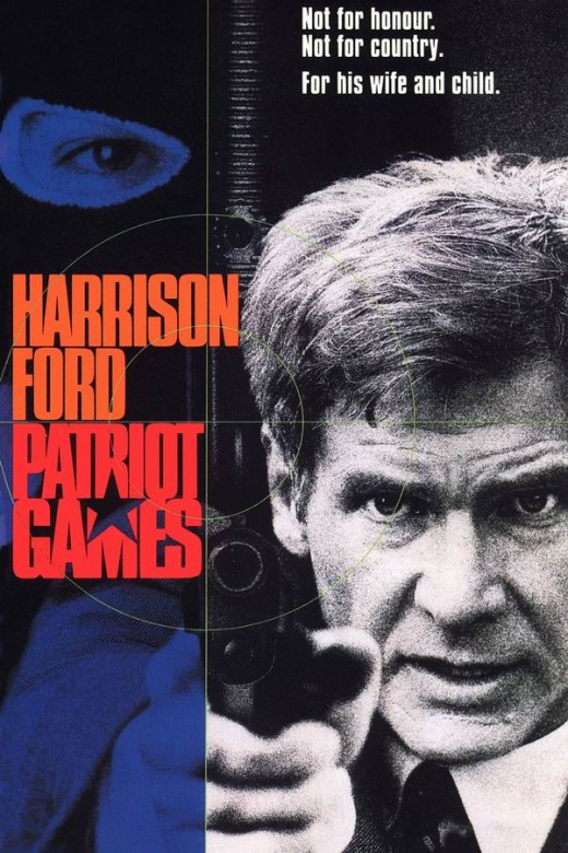 Patriot Games (1992) poster