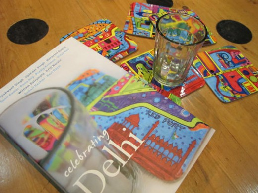 Purani Dilli coasters by Play Clan