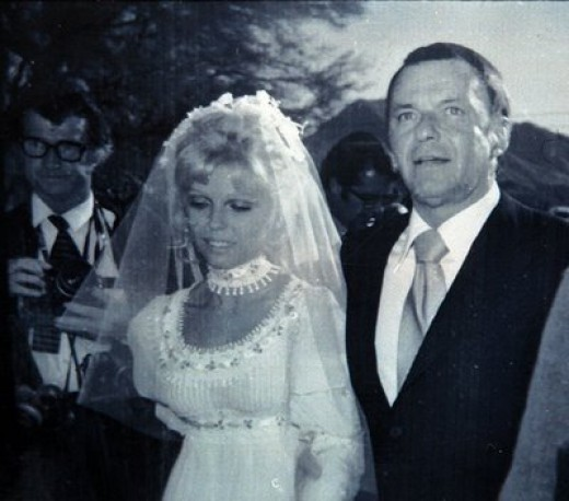 Frank and Barbera wed - 1976