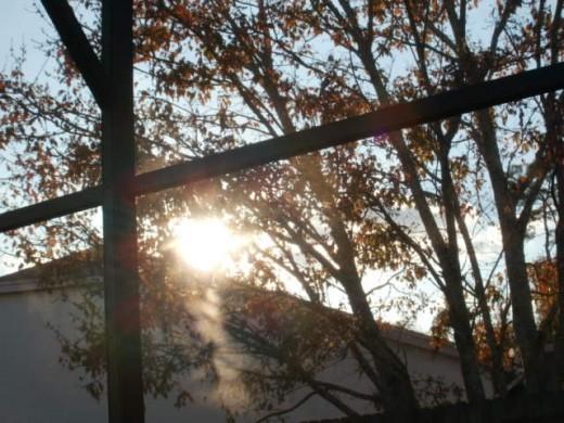Sunset warming my soul