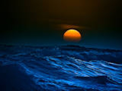 The soothing sounds produced by a gently rolling oceans waves can not only place one within a brief hypnotic state, but also can act to calm down the turmoil of the inner emotions that also comes in the form of stress.
