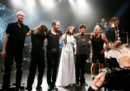Tarja Turunen with band in London 2010