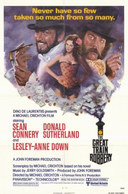 The Great Train Robbery (1979) poster