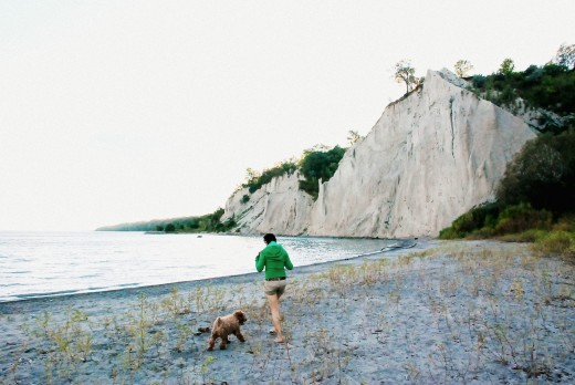 Afternoon at Scarborough Bluffs