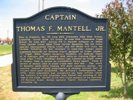 Official Marker Of The  Mantell Incident