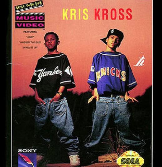 """Kriss Kross a make ya Jump, Jump."""