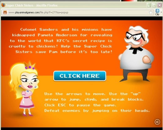 Free online chicken games were never like this.