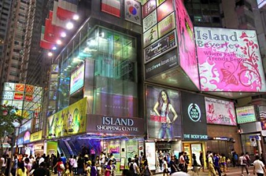 Shopping is a must in Hong Kong especially with electricals and designer gear.