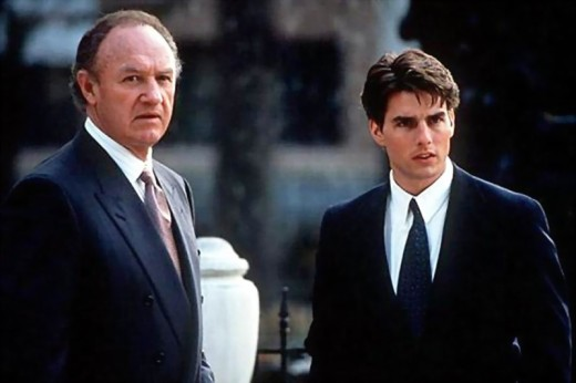 Gene Hackman and Tom Cruise in The Firm (1993)