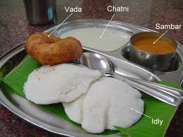 The most popular vegetarian dish in South India. Dosa and Idly are the most popular ones.