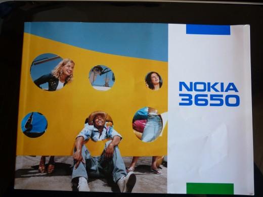 Nokia 3650 Manual