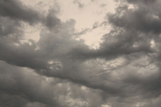 I love this photo of dark stormy clouds, its so simple yet so ominous 8/1/11