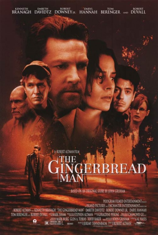 The Gingerbread Man (1998) poster