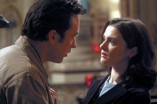 John Cusack and Rachel Weisz in Runaway Jury (2003)