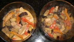 Quick, Easy & Healthy Recipe: Chicken and Eggplant Panang Curry