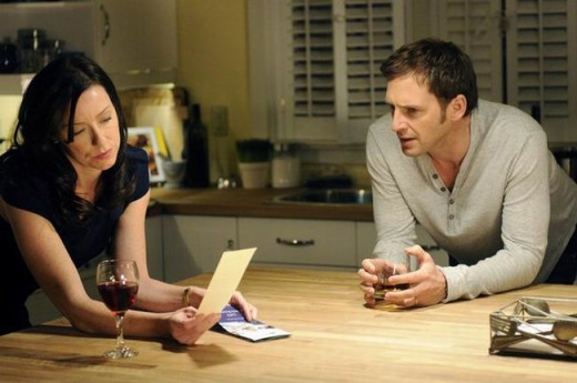 Molly Parker and Josh Lucas in The Firm (2012)