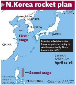 Unless something really goes bad, how would the rocket fly over Japan? It is much more likely the Philippines would face a danger.