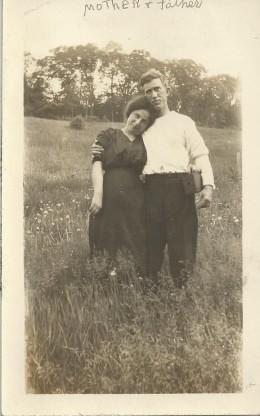 My maternal grandparents, Mary Harrigan and David Foley, Troy, NY, around 1912