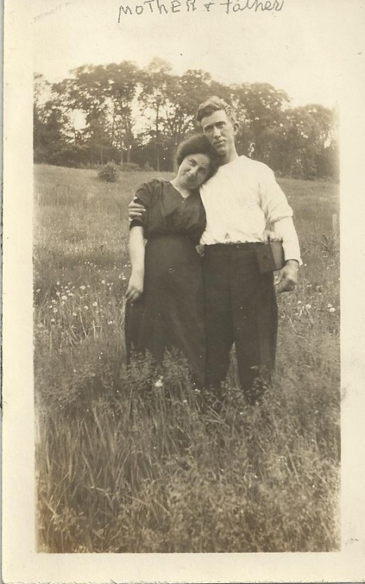 My maternal grandparents, Mary Harrigan and David Foley, Troy, NY, around 1912