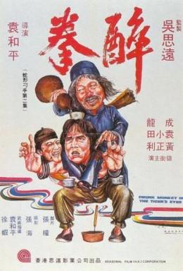 Movie poster for Drunken Master