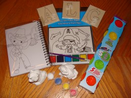 Here are some examples of easy and inexpensive crafts for your young artists.