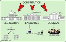 The three branch of government
