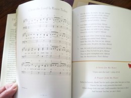 Music, texts, and devotional thoughts work together to help children understand the message of the hymns.