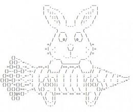 Ascii Bunny Related Keywords & Suggestions - Ascii Bunny Long Tail ...