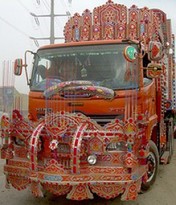 truck painting art of Pakistan
