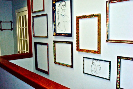 the wall of frames