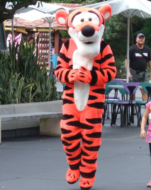 Tigger at the Magic Kingdom