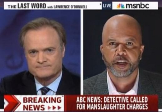 Friend of Zimmerman's family made Lawrence O'Donnell look as closed minded and unfair as Bill O'Reilly.